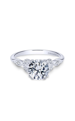 Gabriel & Co. Victorian Engagement Ring ER11721R4W84JJ product image