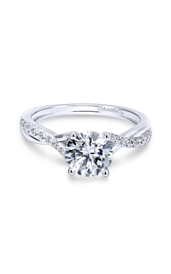 Gabriel & Co. Contemporary Engagement ring ER11794R3PT4JJ product image