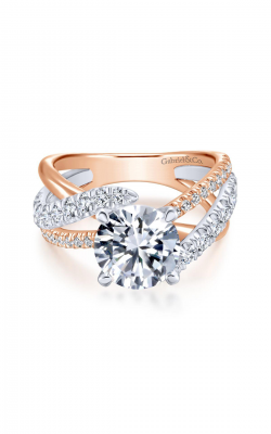 Gabriel & Co. Contemporary Engagement Ring ER12337R6T84JJ product image