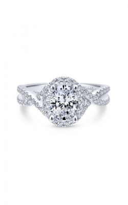 Gabriel & Co. Entwined Engagement ring ER12774O4PT4JJ product image