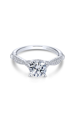 Gabriel & Co. Contemporary Engagement Ring ER13859R4W44JJ product image