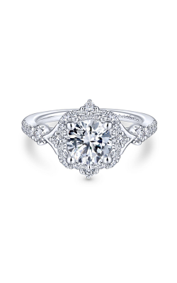 Gabriel & Co. Victorian Engagement Ring ER14411R4W44JJ product image
