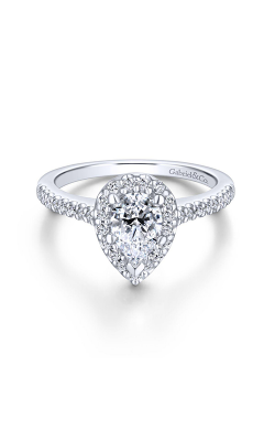 Gabriel & Co. Contemporary Engagement Ring ER5828W84JJ product image