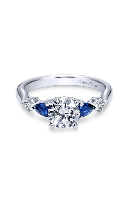 Gabriel & Co. Contemporary Engagement Ring ER6002W84SA product image