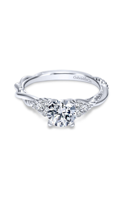 Gabriel & Co. Hampton Engagement Ring ER8817PT4JJ product image
