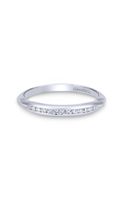 Gabriel & Co. Contemporary Wedding Band WB11749R3W84JJ product image