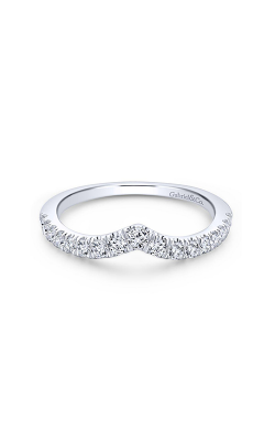 Gabriel & Co Contemporary Wedding Band WB13683R6W44JJ product image