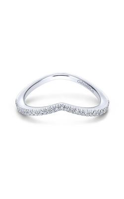 Gabriel & Co Contemporary Wedding Band WB13846R4W84JJ product image
