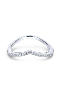 Gabriel & Co Contemporary Wedding Band WB13846R4W44JJ product image