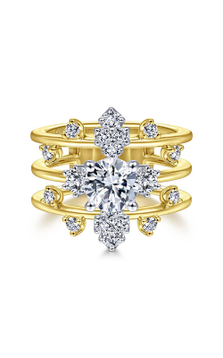 Gabriel & Co Starlight Engagement Ring ER14775R4M44JJ.0001 product image