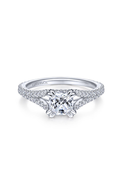 Gabriel & Co. Contemporary Engagement Ring ER14805C4W44JJ product image