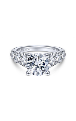 Gabriel & Co. Contemporary Engagement ring ER14892R8W44JJ product image