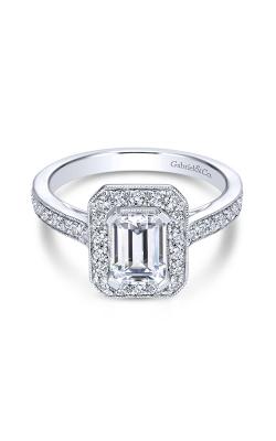 Gabriel & Co. Victorian Engagement Ring ER7528PT4JJ.0028 product image