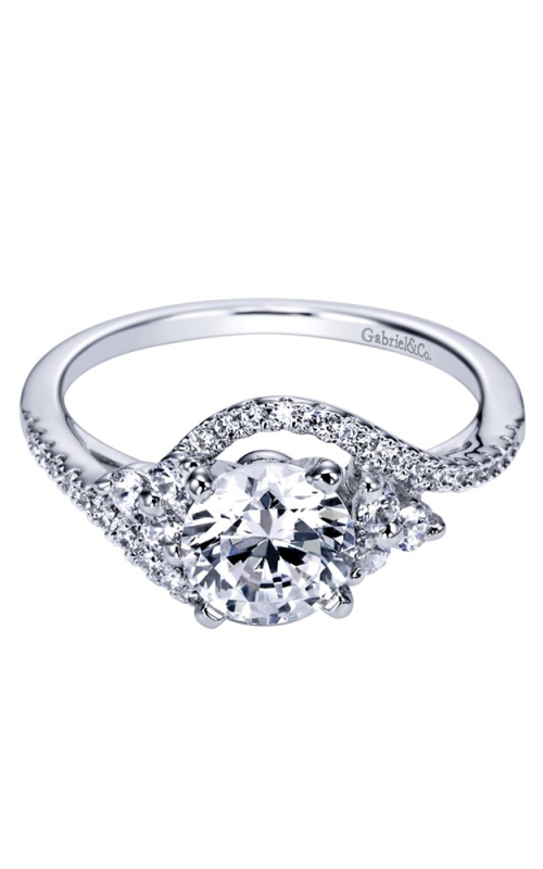 Gabriel & Co. Contemporary Engagement Ring ER5330W44JJ product image