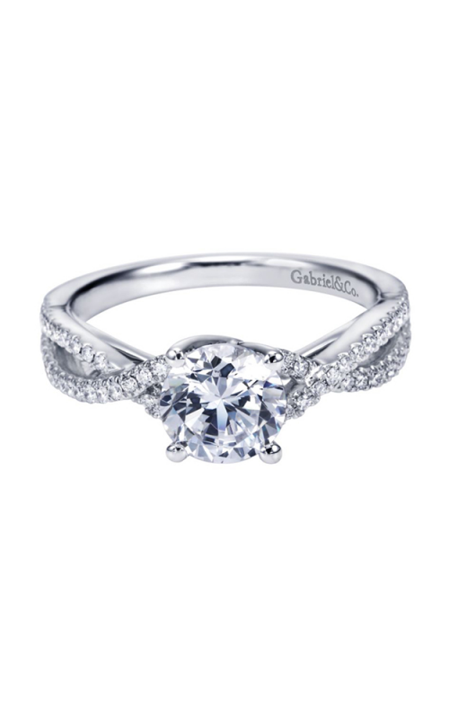 Gabriel & Co. Contemporary Engagement ring ER7546W44JJ product image