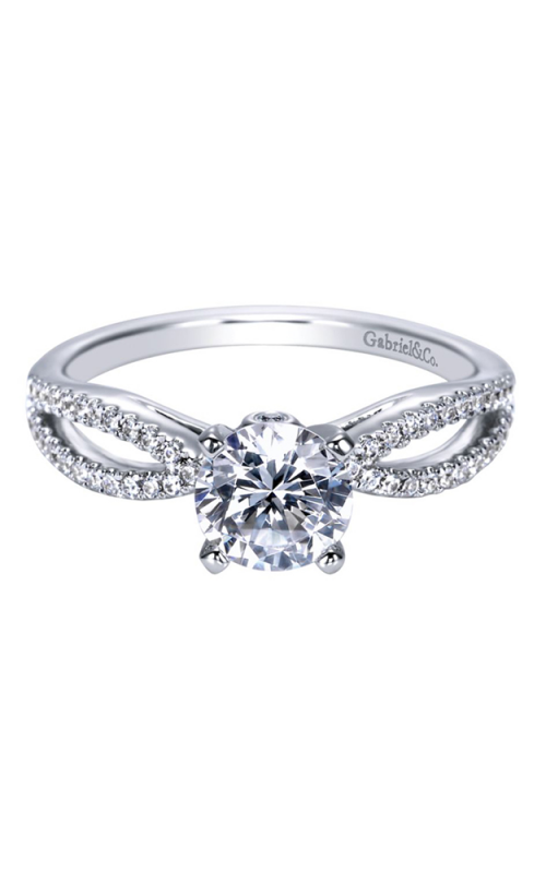 Gabriel & Co. Contemporary Engagement ring ER8129W44JJ product image