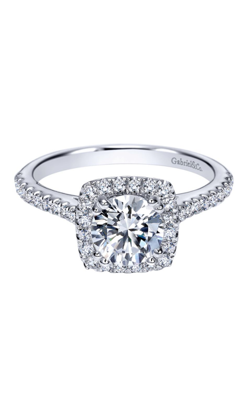 Gabriel & Co. Contemporary Engagement Ring ER8152W44JJ product image