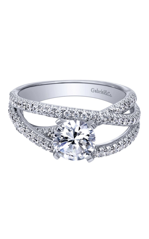 Gabriel & Co. Contemporary Engagement ring ER10204W44JJ product image