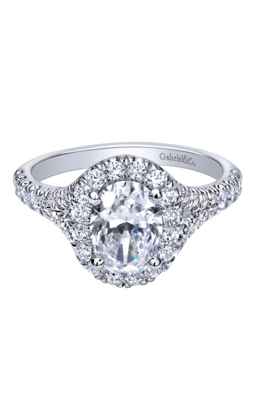 Gabriel & Co. Contemporary Engagement ring ER10291W44JJ product image