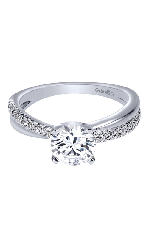 Gabriel & Co. Contemporary Engagement ring ER10439W44JJ product image