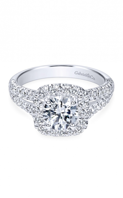 Gabriel & Co. Contemporary Engagement Ring ER10252W44JJ product image