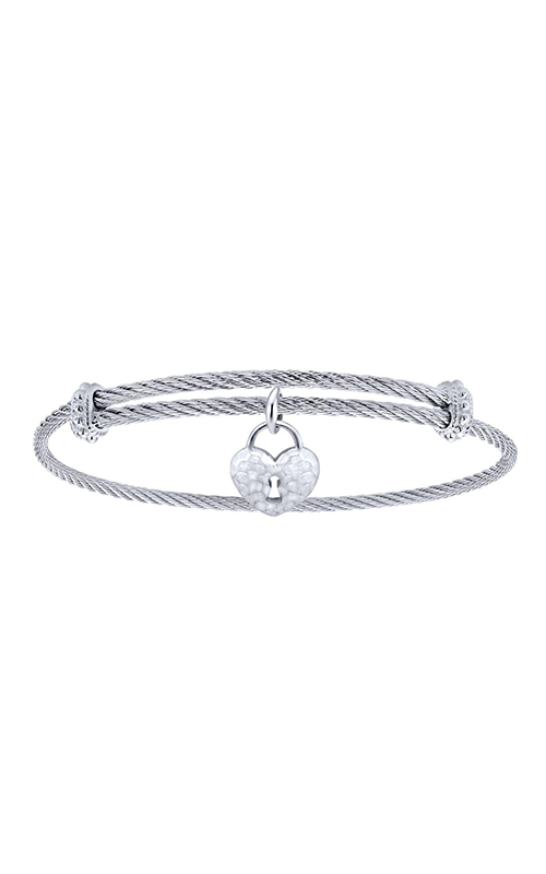 Gabriel & Co. Steel My Heart Bracelet BG3576MXJJJ product image