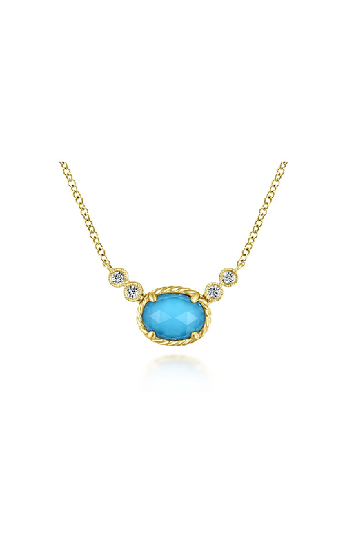 Gabriel & Co. Hampton Diamond Necklace NK5714Y45XT product image