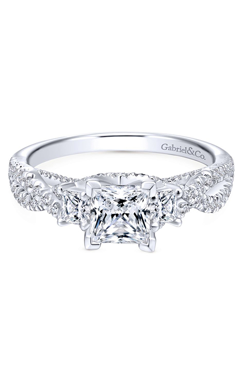 Gabriel & Co. Entwined Engagement Ring ER12663S3W44JJ product image