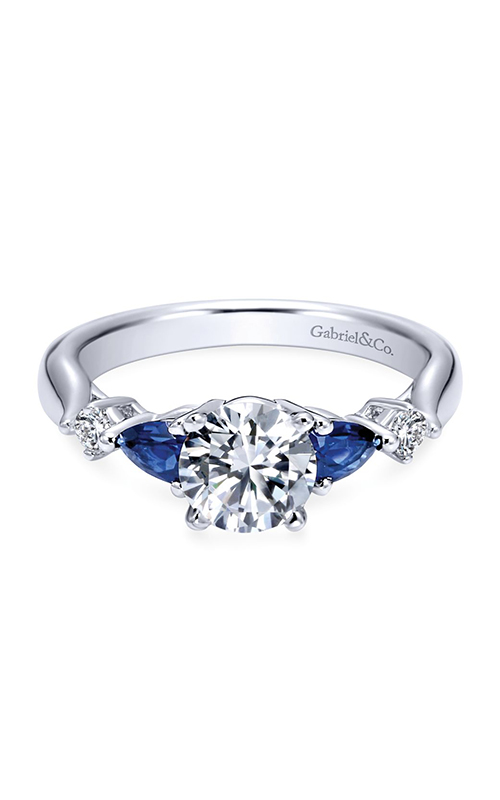 Gabriel & Co. Contemporary Engagement ring ER6002W44SA product image