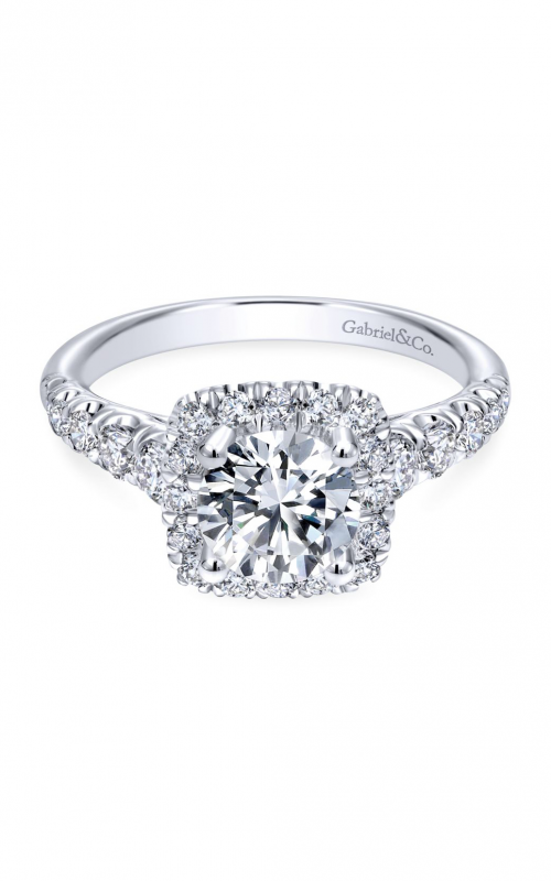 Gabriel & Co. Contemporary Engagement Ring ER10909W44JJ product image