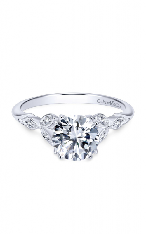 Gabriel & Co. Victorian Engagement Ring ER11721R4W44JJ product image