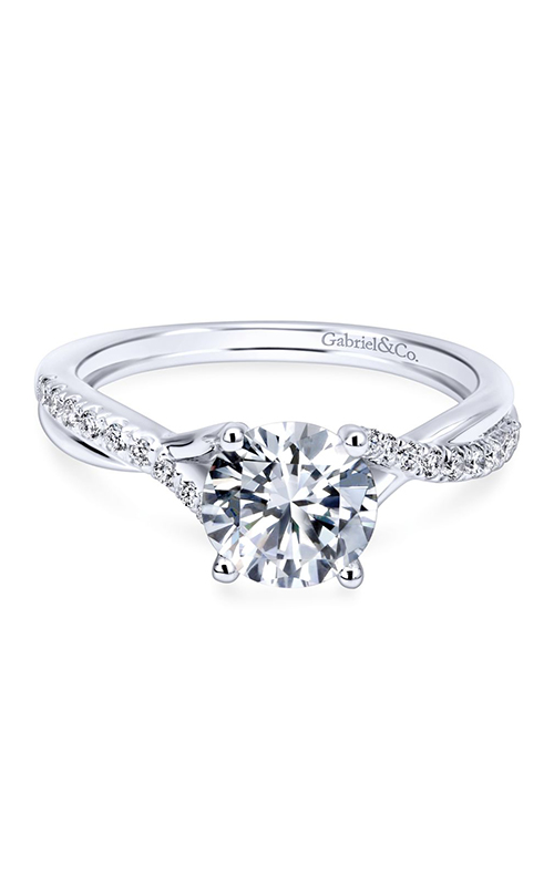 Gabriel & Co. Contemporary Engagement Ring ER11794R3W44JJ product image