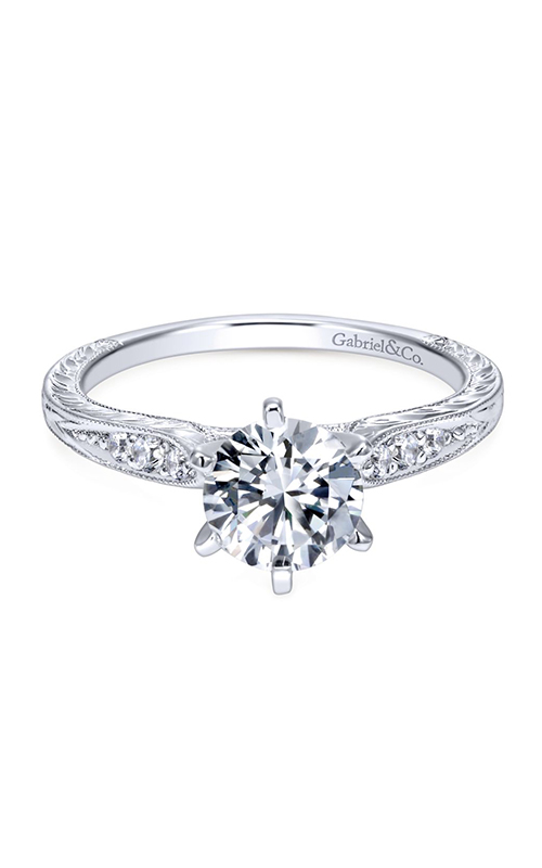 Gabriel & Co. Victorian Engagement ring ER11827R4W44JJ product image