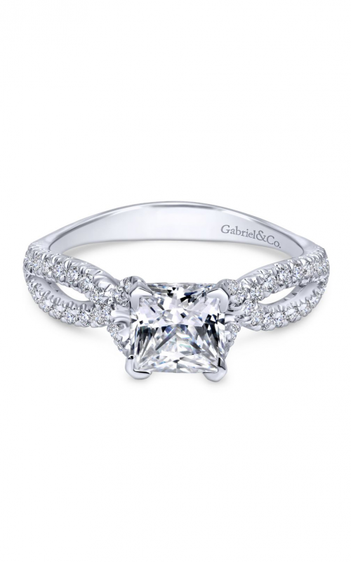 Gabriel & Co. Contemporary Engagement Ring ER11887S4W44JJ product image