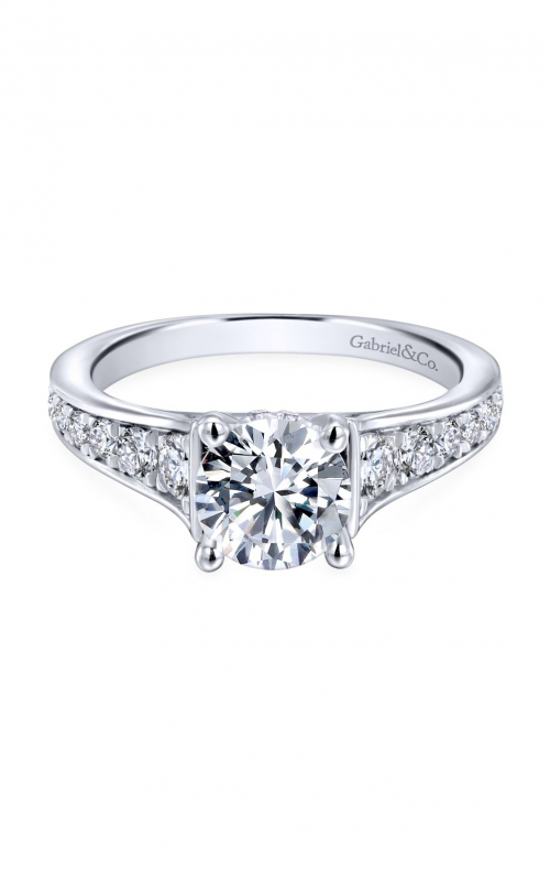Gabriel & Co. Contemporary Engagement ring ER12277R4W44JJ product image
