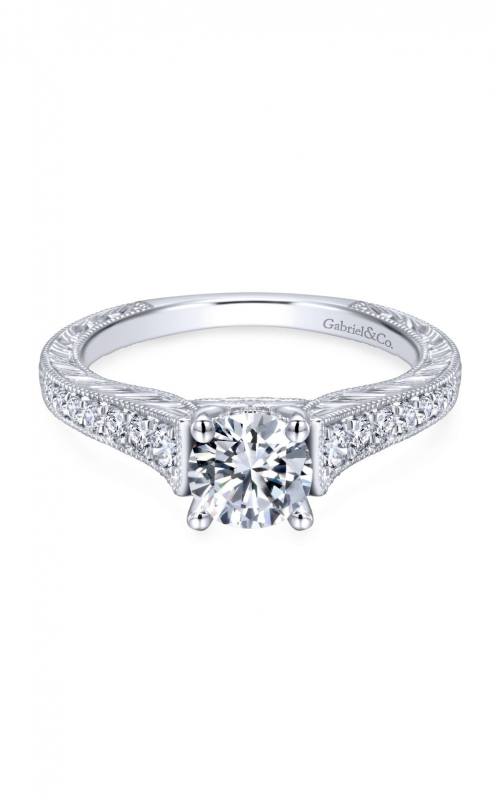 Gabriel & Co. Victorian Engagement ring ER12282R3W44JJ product image