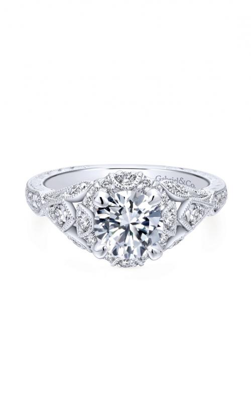 Gabriel & Co. Victorian Engagement Ring ER12579R4W44JJ product image