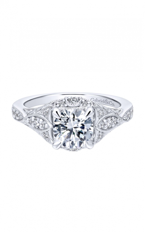 Gabriel & Co. Victorian Engagement Ring ER12580R4W44JJ product image