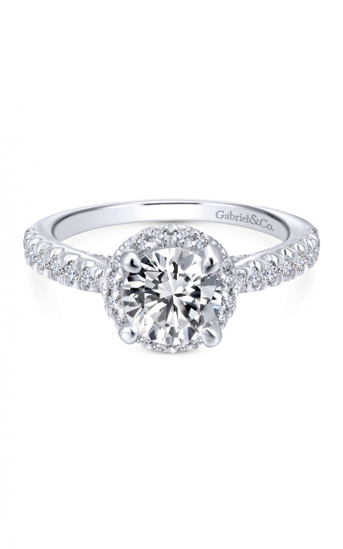 Gabriel & Co. Entwined Engagement Ring ER12596R4W44JJ product image