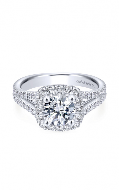 Gabriel & Co. Entwined Engagement Ring ER12611R4W44JJ product image