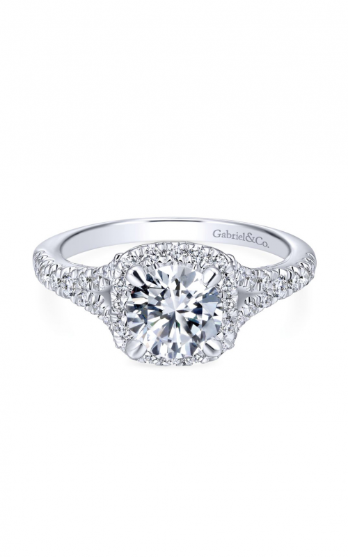 Gabriel & Co. Entwined Engagement Ring ER12623R4W44JJ product image