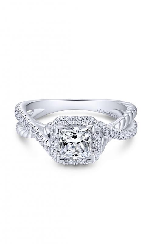 Gabriel & Co. Hampton Engagement Ring ER12627S3W44JJ product image