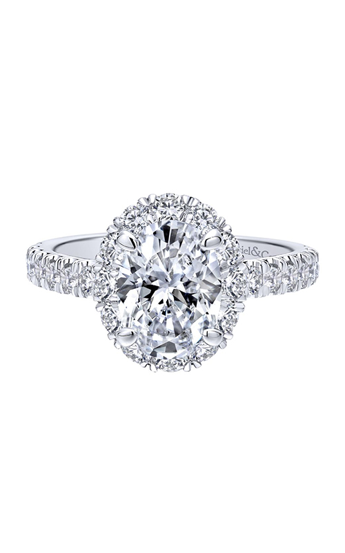 Gabriel & Co. Contemporary Engagement ring ER12647O4W44JJ product image