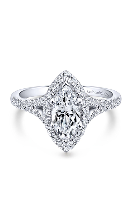 Gabriel & Co. Entwined Engagement Ring ER12649M4W44JJ product image