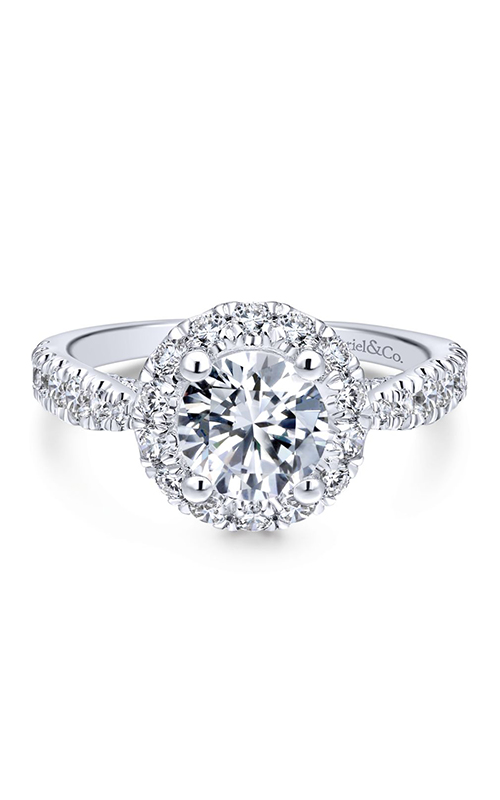 Gabriel & Co. Entwined Engagement ring ER12657R4W44JJ product image