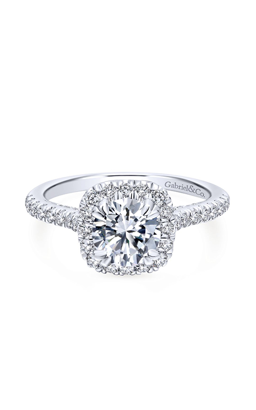 Gabriel & Co. Entwined Engagement Ring ER12664R4W44JJ product image