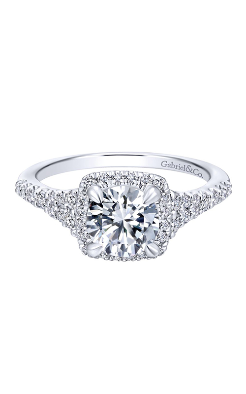 Gabriel & Co. Entwined Engagement Ring ER12670R4W44JJ product image