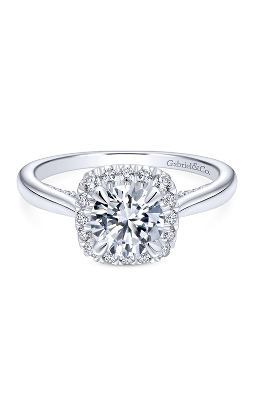 Gabriel & Co. Entwined Engagement ring ER12672R4W44JJ product image