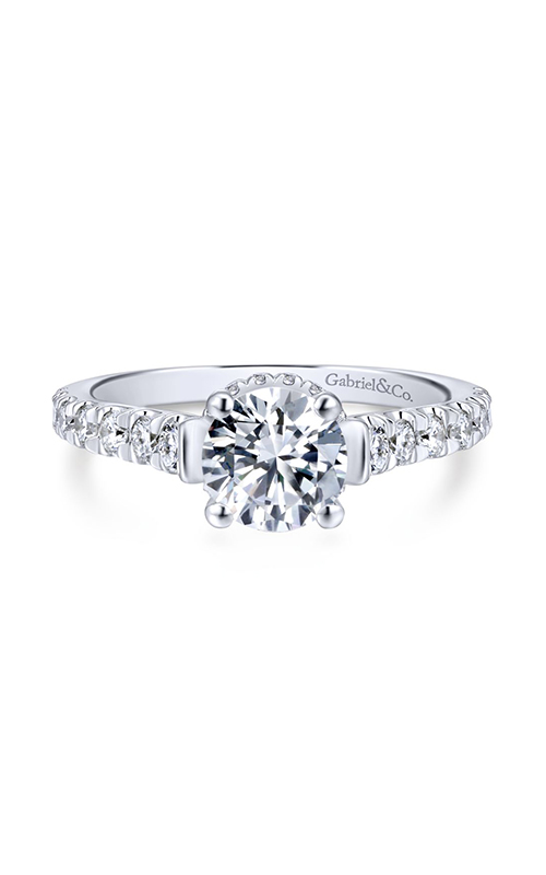 Gabriel & Co. Crown Engagement ring ER12679R4W44JJ product image