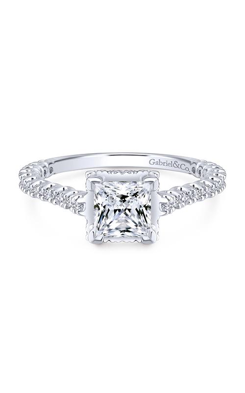 Gabriel & Co. Crown Engagement Ring ER12754S4W44JJ product image